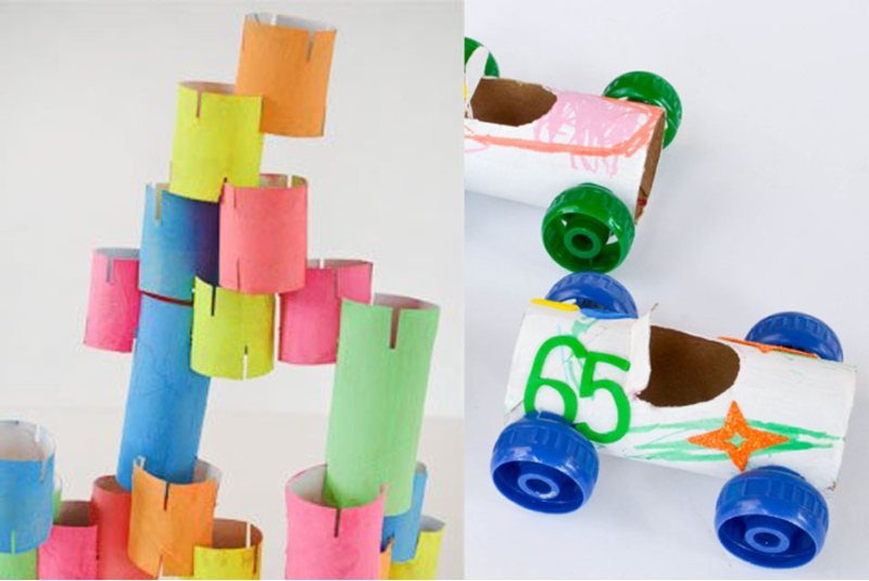 DIY ของเล่นเด็ก จากของเหลือใช้