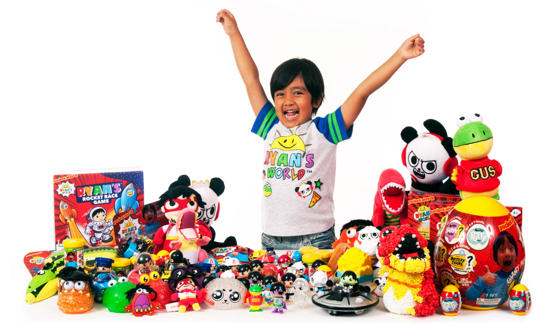 รู้จัก Ryan ToysReview ยูทูเบอร์วัย 8 ขวบ ที่กวาดรายได้ 720 ล้านบาท ดังจนมีแบรนด์ของเล่นของตัวเอง